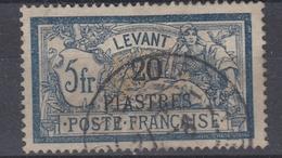 +M32. Levant 1886-1901. Yvert 23. Obl./Cancelled - Levant (1885-1946)