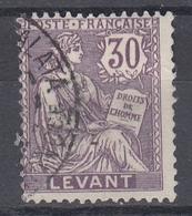 +M34. Levant 1886-1901. Yvert 18. Obl./Cancelled - Levant (1885-1946)