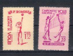 Romania 1955 -- Campionato Di VOLLEY  --   **MNH - 1948-.... Républiques