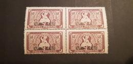 Kouang Tcheou Yvert 152** Bloc De 4 - Kouang-Tcheou (1906-1945)