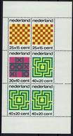 Schach Chess Ajedrez échecs - Niederlande Nederland 1973 - MiNr Block Bl 12** - Schach