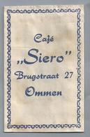 Suikerzakje.- OMMEN. Café - SIERO - Brugstraat 27. Suiker Sucre Zucchero Zucker Sugar - Suiker