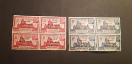 Kouang Tcheou Yvert 156-157** Bloc De 4 - Kouang-Tcheou (1906-1945)