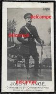 OORLOG GUERRE Joseph Ange Sberchamps Kapitein 2 Chasseurs Gesneuveld Te De Panne 13 Oktober 1918 - Devotion Images