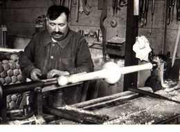 Pierre TOULGOUAT Tourneur Faconnant Une Quille Dax 1941 N°33 (D8) - Illustrateurs & Photographes