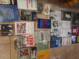 Lot 28  Livres Sur La Résistance 2 Em Guerre 2ww 44 Euro Le Lot Ou 3 Euro Pièce Minimum 3 Livres Donc 9 Euro Les 3 - Books