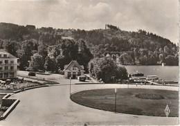 CPSM 88 (Vosges) GERARMER / L' ESPLANADE ET LE LAC - Gerardmer