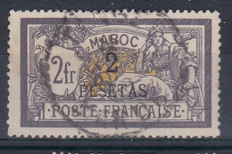+M40. Maroc 1902-03. Yvert 17. Cancelled. Signed Stolow - Oblitérés