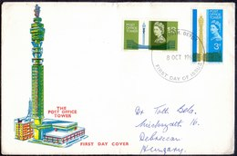 GB- POST OFFICE - TV  TOWER - 1965 - Post