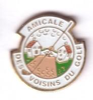 C96 Pin's GOLF Épinal AMICALE DES VOISINS DU GOLF Vosges Achat Immédiat - Golf