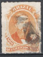 Brasile 1876 Y.T.36 O/Used VF/F - Brazilië