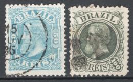 Brasile 1881 Y.T.48/49 O/Used VF/F - Brazilië
