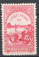 Brasile 1908 Y.T.142 */MH VF/F - Neufs