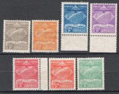 Brasile 1927 Condor Y.T.1/7 */MH VF/F - Poste Aérienne