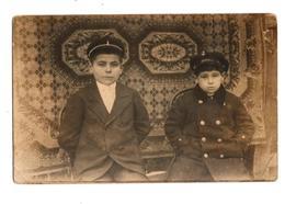Vintage Old Postcard - Two Boys - Ohne Zuordnung