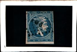 10272) 1863-68 Greece/Grecia, 20 Lepta  - N° 21C- USATO- - Oblitérés