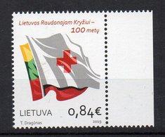 LITUANIE - LITHUANIA - 2019 - RED CROSS - CROIX ROUGE - ROTES KREUZ - - Lituania