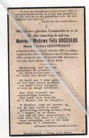 MARIA CAROLINA QUISTHOUDT ° BERG 1857 + 1937 / FELIX GOOSSENS - Devotion Images