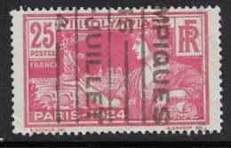 Maury 184 - 25 C Rouge Oblitéré Flamme JO - O - Oblitérés