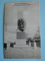 BUCY SAINT LIPHARD  (Loiret) -- Guerre 1870 - Monument Du Souvenir Français - France