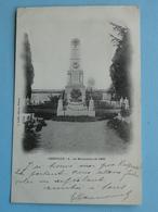 """CHEVILLY  (Loiret) -- Guerre 1870 - Le Monument Aux Soldats Morts Pour La France - Cpa """"précurseur"""" 1905 - Francia"""