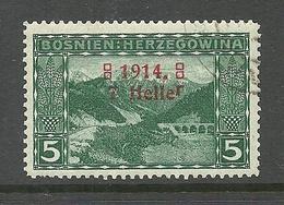 BOSNIA-HERZEGOWINA 1914 Michel 89 O - Bosnie-Herzegovine