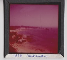 Santander Plaque En Verre Photo 1964. - Glasdias