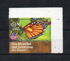 Messico - 2012 - Giornata Mondiale Della Sindrome Di Down - Nuovo Con Bordo Di Foglio Angolare  ** - (FDC19425) - Messico