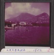 Locarno, Plaque En Verre Photo 1952. - Diapositiva Su Vetro