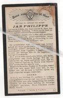 JAN PHILIPPE ° OVERPELT 1853 + 1931 - Devotion Images