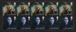 GB - 2011 - N°Yv. 3442 à 3443 - Harry Potter / Dumbledore / Voldemort - Bandes De 5 - Neuf Luxe ** / MNH / Postfrisch - 1952-.... (Elizabeth II)