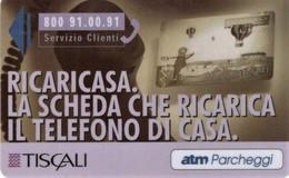 *ITALIA: PARKING CARD - TISCALI* - Usata - Non Classificati