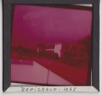 Benicarlo, Plaque En Verre Photo 1952. - Glasdias