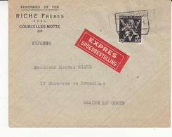 Enveloppe Express - 1929-1937 Leone Araldico