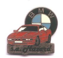 V409 Pin's BMW Hazard Garage à Nancy Meurthe Moselle Pilote Rallye Superbe Qualité Egf Achat Immédiat - BMW