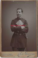 Grand CDV-(CAB) Vers 1890-élève école Nationale Supérieure Des Mines De Saint Etienne-uniforme-par Chéri Rousseau - Anciennes (Av. 1900)