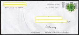 USA 2017 Brief/ Letter/ Lettre Europa ;MiNr.5391 Dickblattgewächs ; Grand Format/ Big Size  24x10,5cm ! - Vereinigte Staaten