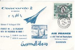 Concorde à Bahrein ,1974 - Bahreïn (1965-...)