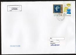 Tschechische Republik 2017 Brief/ Letter/ Lettre Europa ;MiNr.940, 943 ; Grand Format/ Big Size  23x16cm ! - Briefe U. Dokumente