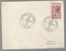 Enveloppe Journée Du Timbre 1962 Paris - Otros