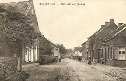 BOISSCHOT / Booischot - Statiestraat (Links) - Met Volk - Uitg. Leon Van Den Broeck - Heist-op-den-Berg