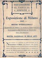 B 3008 - Sempione, Esposizione, Milano, 1905, Expo - Transports