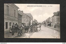 76 - GRUCHET-LE-VALASSE - La Poste - Altri Comuni
