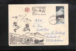 Poland / Polska 1978 Hockey Interesting Letter - 1944-.... República