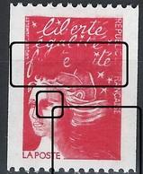 LL-/-621-. N° 3086  II ,  * * , ROULETTE   AVEC  SUPERBES MACULATURES, GOMME JAUNE, COTE 30.00 €,  VOIR LES SCANS - Varietà: 1990-99 Nuovi