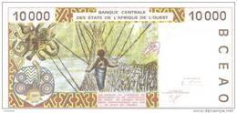 WEST AFRICAN STATES P. 714Kj 10000 F 2001 UNC - Senegal