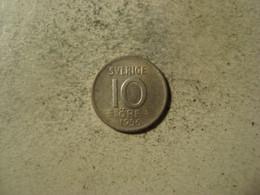 MONNAIE SUEDE 10 ORE 1956 - Sweden