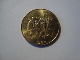 MONNAIE AFRIQUE DE L'OUEST 10 FRANCS 1984 - Monnaies