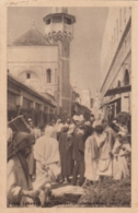 """AK - TUNIS - Leben In Den Sonks (Werbekarte Der """"Illwo"""" 1931 - Tunesien"""