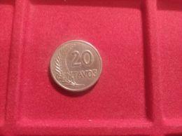 PERU' 20 Centavos 1921 - Peru